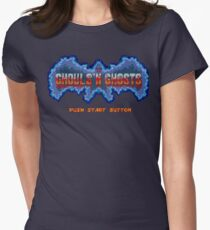 Press Start to catch some Ghosts Lol Women's Fitted T-Shirt