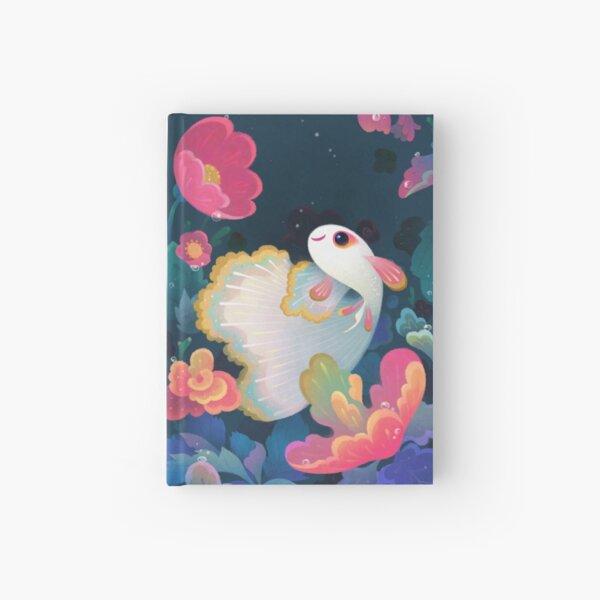 Flower guppy Hardcover Journal