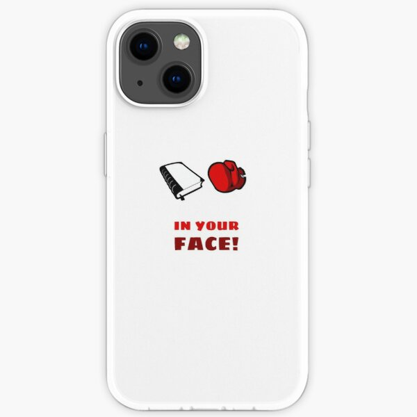 In Your Face iPhone Soft Case
