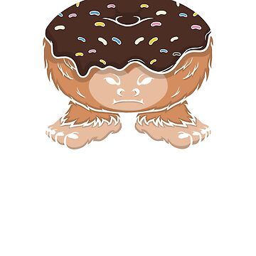 Donut Bigfoot  by jaybeebrands