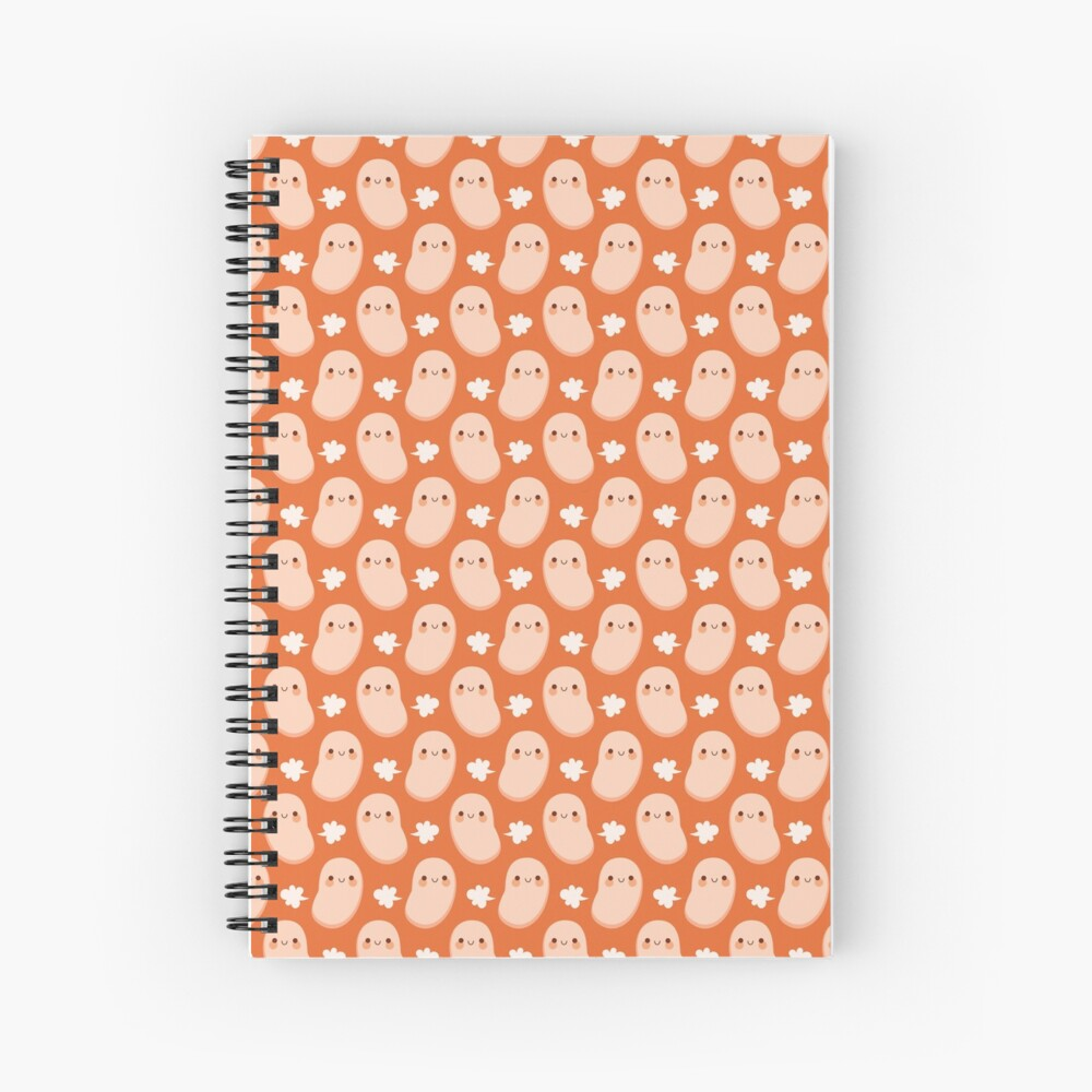 Baked beans farting Spiral Notebook