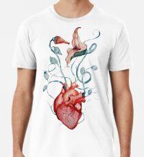 Pink Floyd Blumen | Aquarell | Rock-Fan-Kunst Premium T-Shirt
