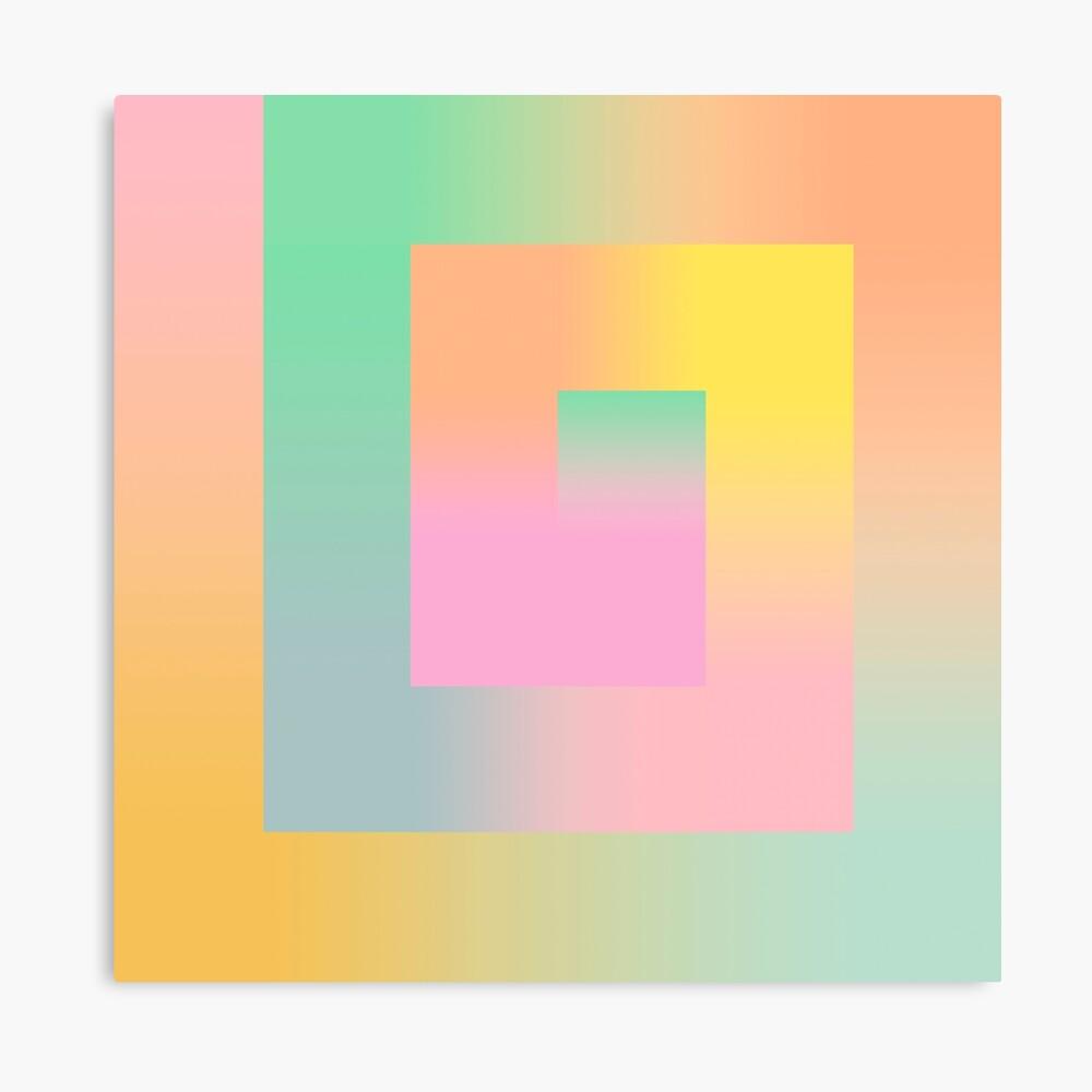 The Gradient Canvas Print