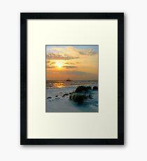 Shrimper Inshore Framed Print
