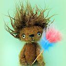 Diddy Doddy, Ken Dodd teddy bear by Penny Bonser