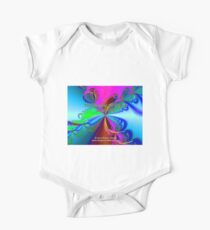 The Sharing Of My Art Is My Gift Short Sleeve Baby One-Piece