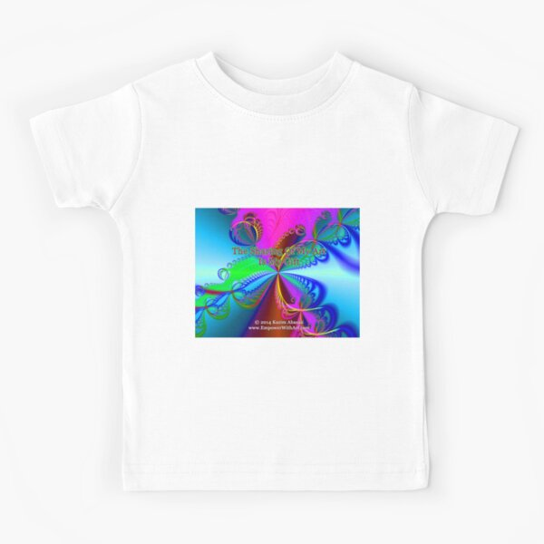 The Sharing Of My Art Is My Gift Kids T-Shirt