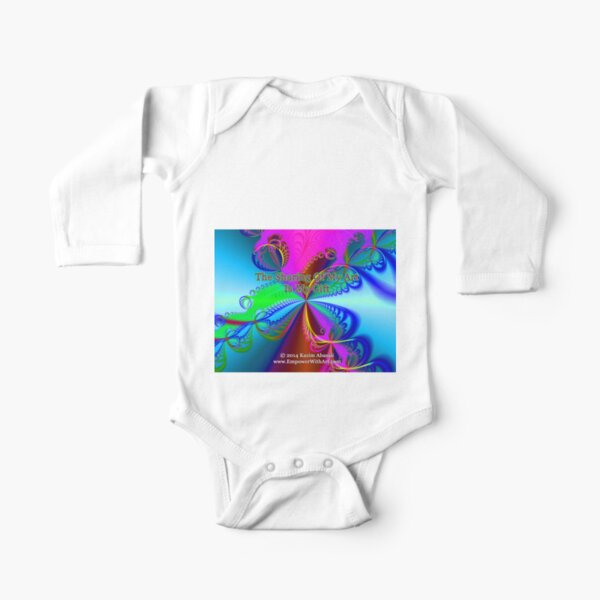 The Sharing Of My Art Is My Gift Long Sleeve Baby One-Piece