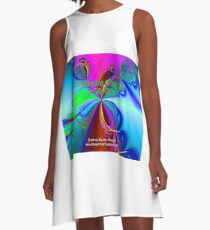 The Sharing Of My Art Is My Gift A-Line Dress