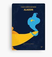 No920 My Aladdin minimal movie poster Canvas Print
