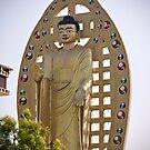 Buddha Statue at Dehradun. by Sunil Bhardwaj