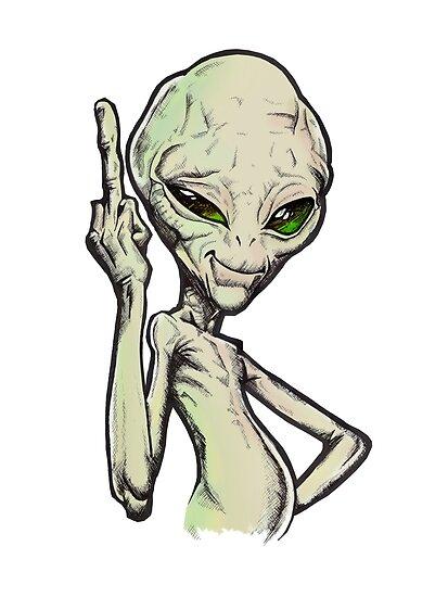 Alien paul fuck you