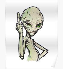 Paul the Alien Poster