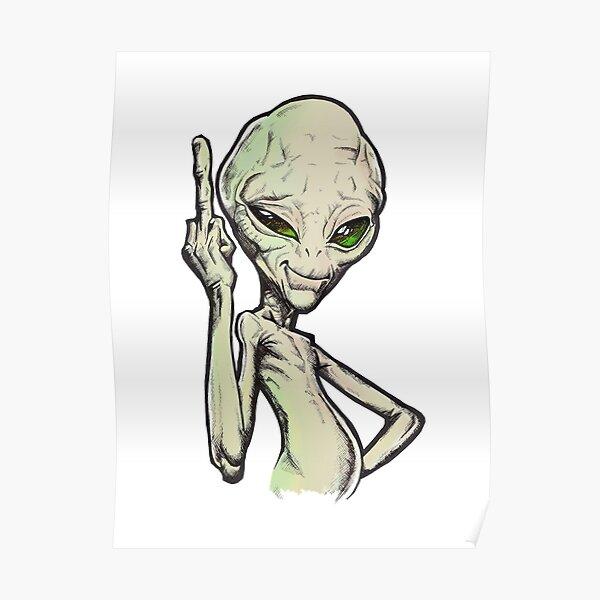 Paul der Alien Poster