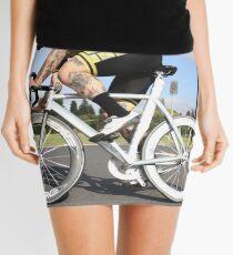 Fixie cyclist Mini Skirt