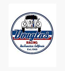 Douglas racing  Photographic Print