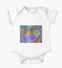 Gifts Of Love Are Heartfelt Short Sleeve Baby One-Piece