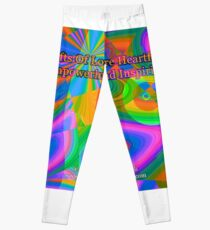 Gifts Of Love Are Heartfelt Leggings