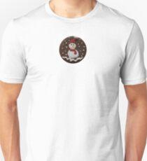 Snowman Cookie Unisex T-Shirt