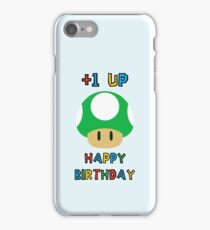 Happy Birthday - one UP iPhone Case/Skin