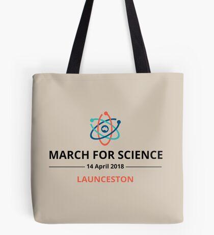 March for Science Launceston logo – dark Tote Bag