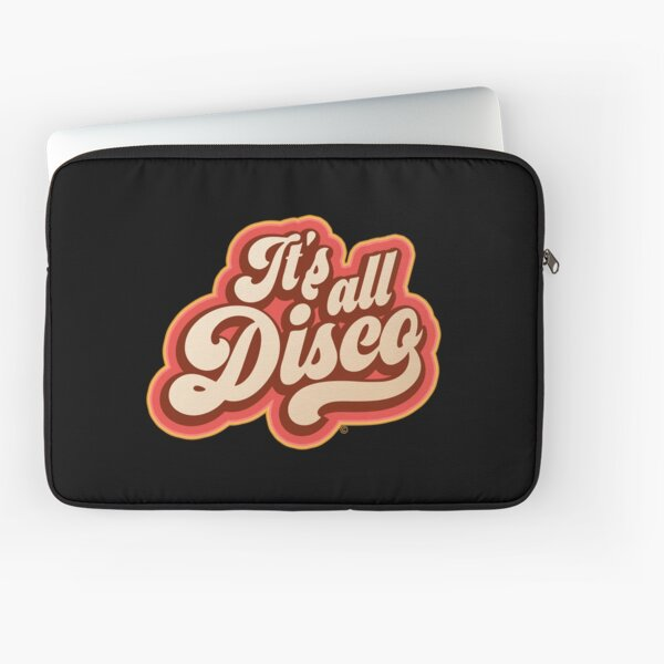ITS ALL DISCO, 1970s, BY SUBGIRL Laptop Sleeve
