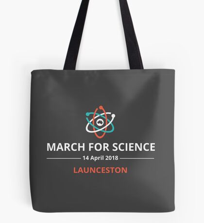 March for Science Launceston logo – light  Tote Bag