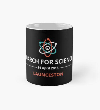 March for Science Launceston logo – light  Mug