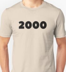 2000 Birthday 18th Birthday Gift Born In 2000 Made In 2000 Anniversary Gift Flashback To 2000 Married In 2000 Gift  Unisex T-Shirt