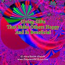 Giving Gifts That Make Others Happy And Is Beneficial by empowerwithart