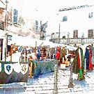 Stalls With Medieval Objects by Giuseppe Cocco