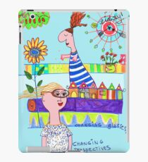 changing glasses, changing perspectives iPad Case/Skin
