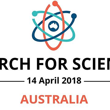 March for Science Australia logo - dark by sciencemarchau