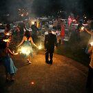 Wedding Fireworks by photomatte
