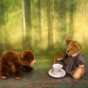 Teddy Bear Tea Party by kdxweaver
