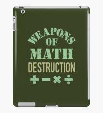 Weapons of Math Destruction iPad Case/Skin