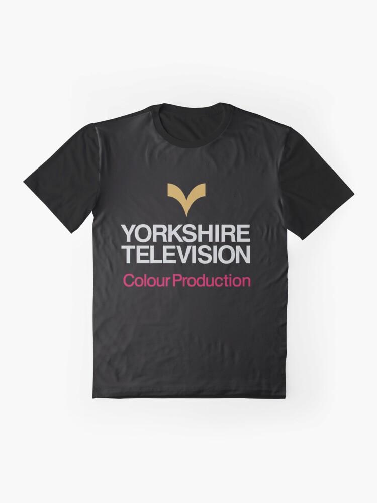 Alternate view of Yorkshire TV logo Graphic T-Shirt