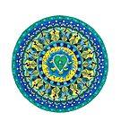 Heart- Atlantis Mandala by AnitaShree