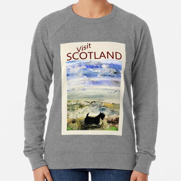 Scottie Dog 'Visit SCOTLAND' Lightweight Sweatshirt