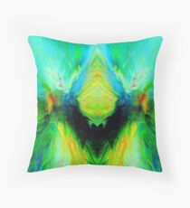 Cat Wizzle Throw Pillow