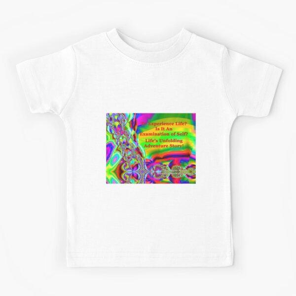 Life's Unfolding Adventure Story Kids T-Shirt