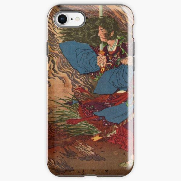 Ukiyo-e print of Samurai on a battlefield iPhone Tough Case