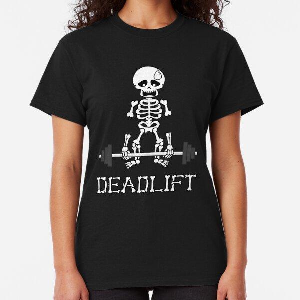 Deadlift Gym Skeleton Classic T-Shirt