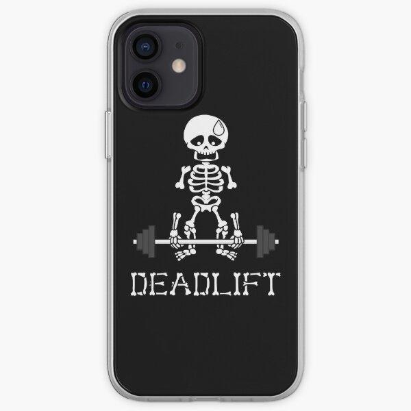 Deadlift Gym Skeleton iPhone Soft Case