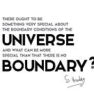 universe boundary - stephen hawking by razvandrc