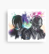 Daft Punk Portrait Metal Print