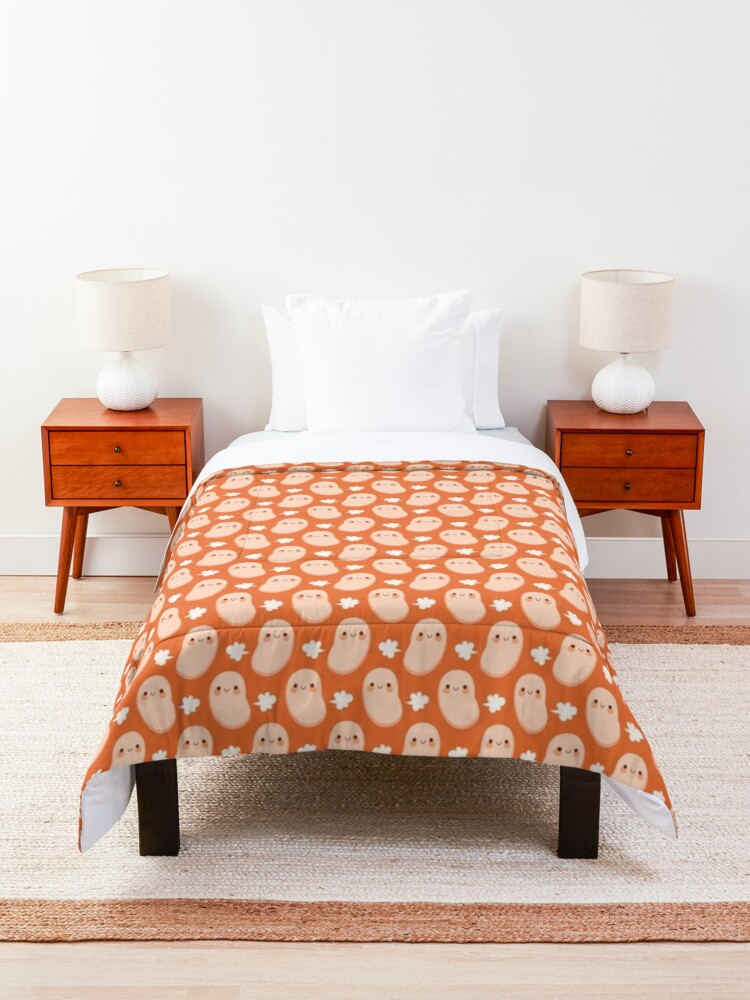 Alternate view of Baked beans farting Comforter