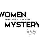 women, mystery - stephen hawking by razvandrc