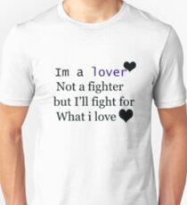 am a lover Unisex T-Shirt