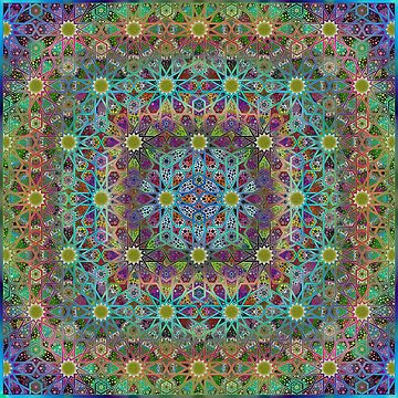 Organic Geometric Pattern 2 by omsah